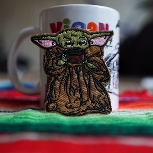 Accessories - Baby Yoda Drinking Out of Cup Patch